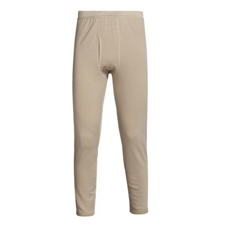 Kenyon Polartec® Grid Fleece Bottoms - Midweight Base Layer (For Tall Men)