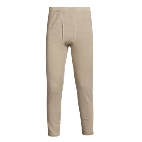 Kenyon Polartec® Grid Fleece Bottoms - Midweight Base Layer (For Men)