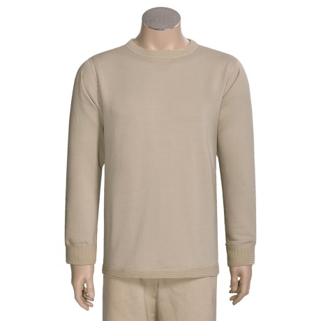 Kenyon Polartec® Grid Fleece Top - Midweight Base Layer, Long Sleeve (For Tall Men)