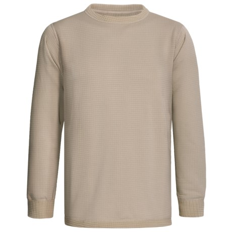 Kenyon Polartec® Grid Fleece Top - Midweight Base Layer, Long Sleeve (For Men)