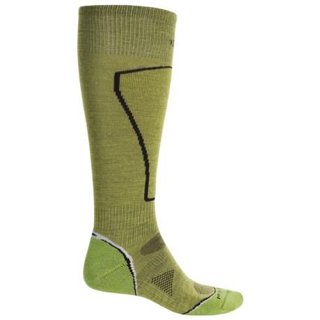 SmartWool PhD Ski Light Socks - Merino Wool, Over the Calf (For Men)