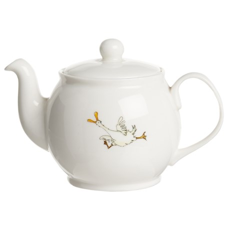 Jersey Pottery Quacky Duck Ceramic Teapot - 2-Cup
