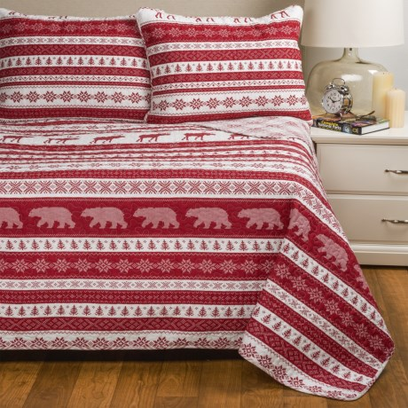 Max Studio Nordic Quilt Set - Twin