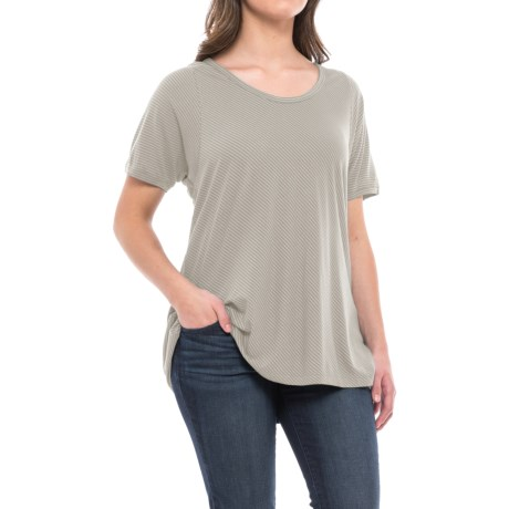 NAU Ayre TENCEL® Shirt - Short Sleeve (For Women)