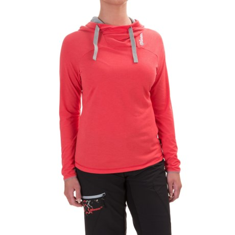 Qloom Mandalay Hooded Shirt - Long Sleeve (For Women)