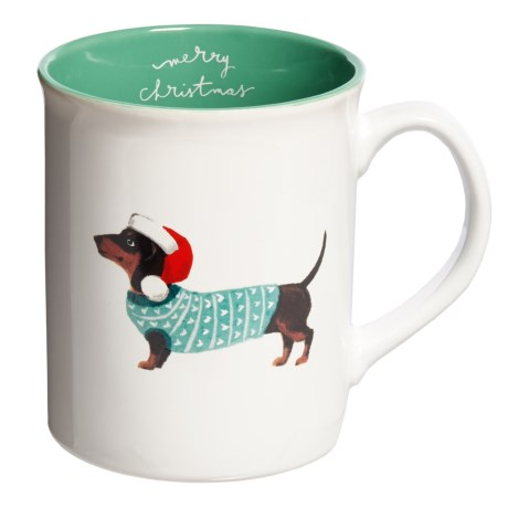 Fringe Studio Holiday  Small Dog Mug - 12 fl.oz.