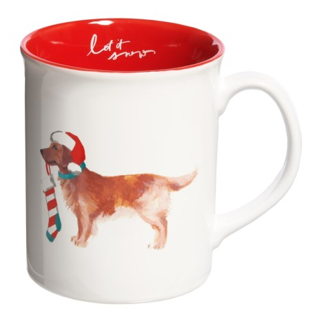 Fringe Studio Holiday Big Dog Mug - 12 fl.oz.
