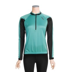 Canari Pinnacle Cycling Jersey - Zip Neck, Long Sleeve (For Women)
