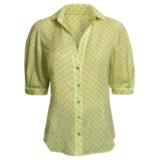 Audrey Talbott Silk Blouse - Polka Dot, Elbow Sleeve (For Women)