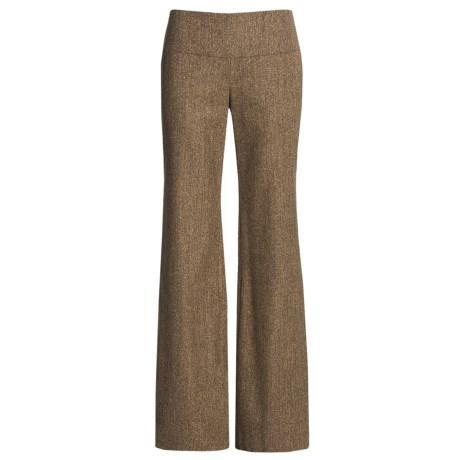 Audrey Talbott Stretch Tweed Pants - Wool Blend (For Women)