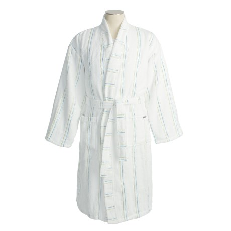 Christy Odyssey Cotton Terry Robe - Kimono Style (For Men and Women)