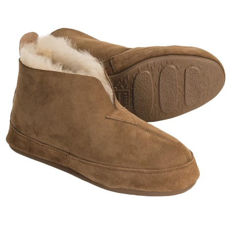 Acorn Big Horn Slippers - Sheepskin (For Men)