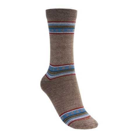 Goodhew Multi-Stripe Socks - Merino Wool, Crew (For Women)