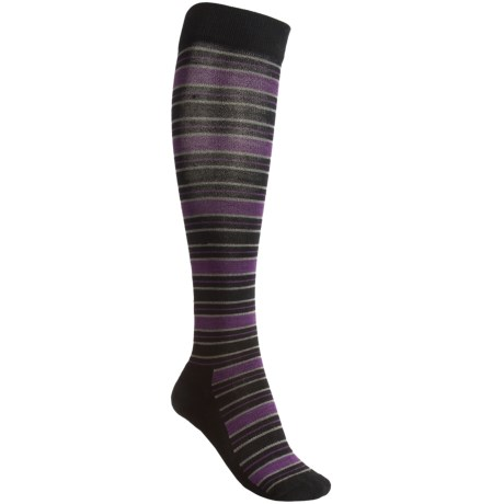 Goodhew Lucky Stripe Socks - Merino Wool, Lightweight (For Women)