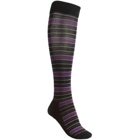 Goodhew Lucky Stripe Socks - Merino Wool, Lightweight (For Women)