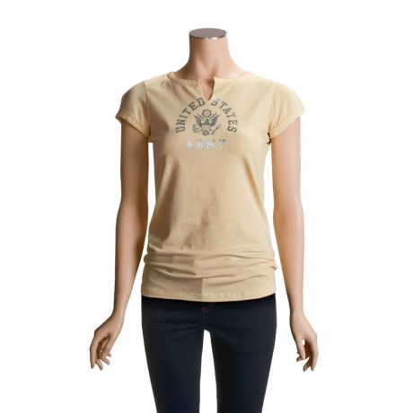 Infantry Division Eagle T-Shirt - Stretch Cotton, Short Sleeve (For Women)
