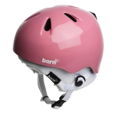 Bern Nina Zip Mold® Multi-Sport Helmet - Removable Winter Liner (For Girls)
