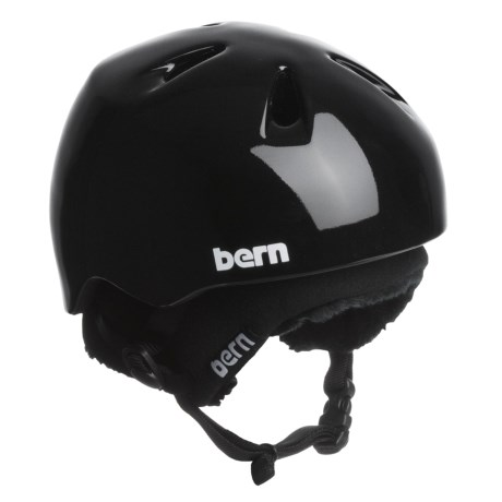 Bern Nino Zip Mold® Multi-Sport Helmet - Removable Winter Liner (For Boys)