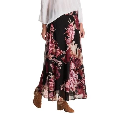 NYCC New York Clothing Co. New York Clothing Co. Chiffon Maxi Skirt (For Women)