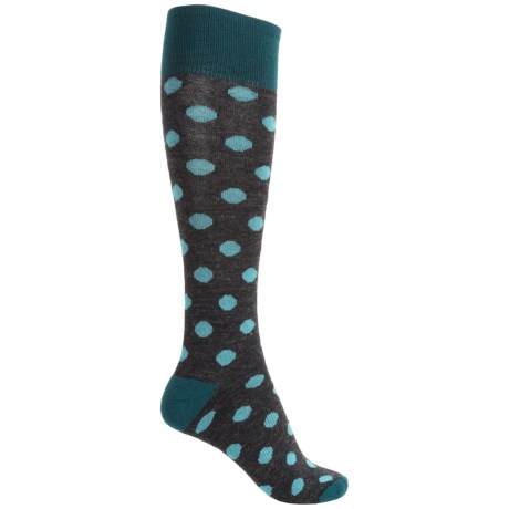 Catawba Dots Fashion Socks - Over the Calf (For Women)