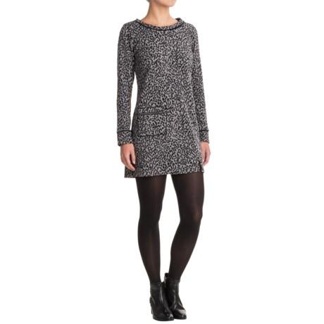 Apropos Pandora Feline Tunic Dress - Long Sleeve (For Women)
