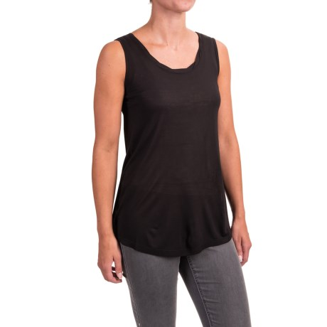 Nomadic Traders NTCO Zip to It Twist Tank Top - Modal Rayon (For Women)