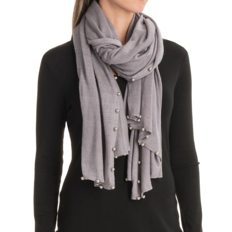 La Fiorentina Pearl-Beaded Scarf (For Women)