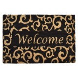 """Home and More Coir Welcome Doormat - 24x36"""""""