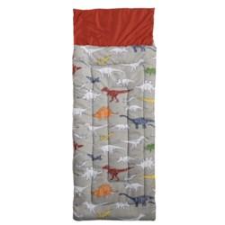 Max Studio Colorbook Dino Sleeping Bag (For Kids)