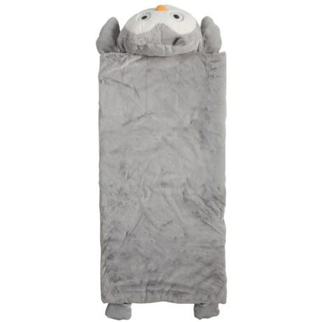 Frolics Plush Owl Sleeping Bag (For Kids)