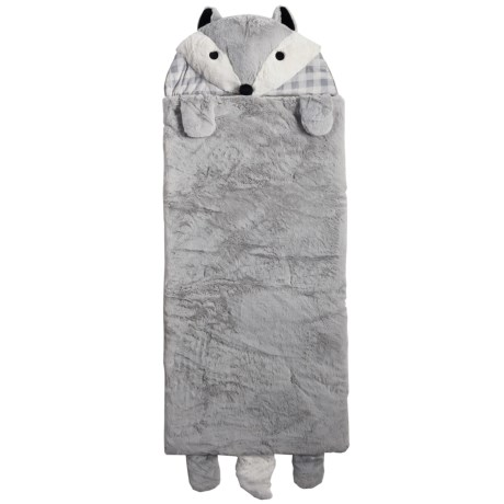 Rugged Bear Grey Fox Sleeping Bag (For Kids)