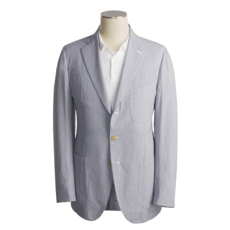 Isaia Cotton Sport Coat (For Men)