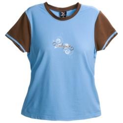 Descente Baby T-Shirt - Short Sleeve (For Women)