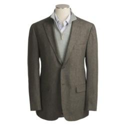 Isaia Herringbone Sport Coat - Wool (For Men)
