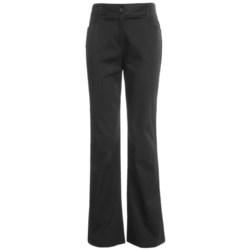 Tribal Sportswear Stretch Cotton Pants (For Women)