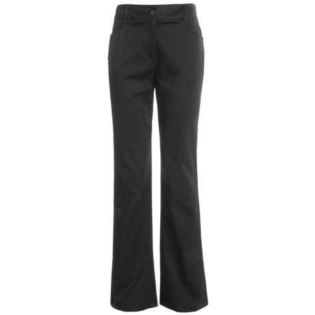 Tribal Sportswear Stretch Cotton Pants (For Women)