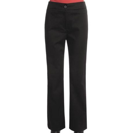 Tribal Sportswear Contour Waist Pants - Back Pockets, Stretch Cotton (For Women)