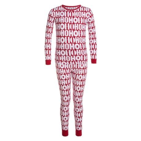 Isaac Mizrahi HO HO HO Pajamas - Long Sleeve (For Little Kids)