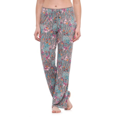 Isaac Mizrahi Whimsical Wild Self Lounge Pants (For Women)