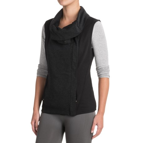 Indigenous Organic Cotton Knit Collar Vest (For Women)