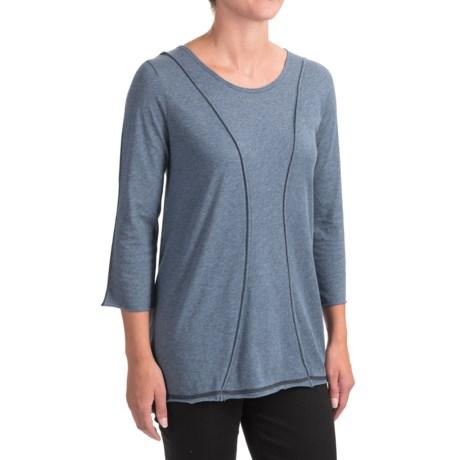 Indigenous Organic Cotton A-Line Shirt - 3/4 Sleeve (For Women)