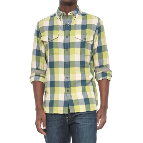 Woolrich Stone Rapids Flannel Shirt - Organic Cotton, Long Sleeve (For Men)