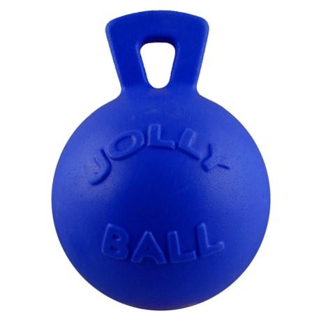 "Jolly Pets Tug-N-Toss Jolly Ball Dog Toy - 8"""