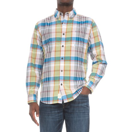 Woolrich Oak View Eco Rich Shirt - Long Sleeve (For Men)