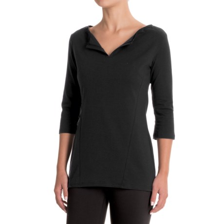 FIG Clothing Clothing Concepcion Shirt - UPF 50, Boat Neck, 3/4 Sleeve (For Women)