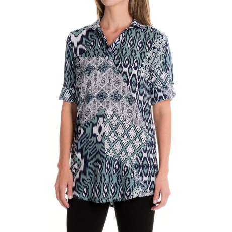 Nomadic Traders Tab Tunic Shirt - Elbow Sleeve (For Women)