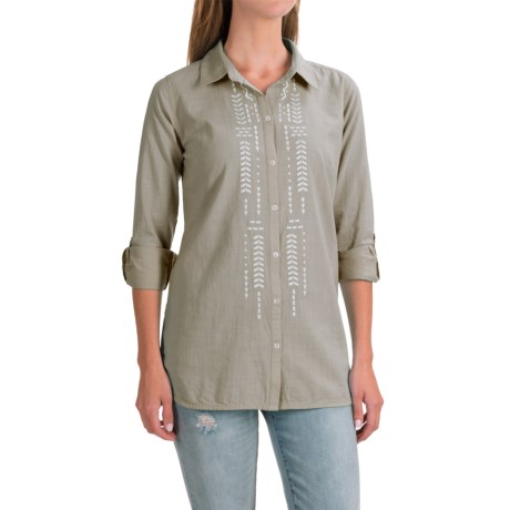 Nomadic Traders NTCO Sedona Embroidered Shirt - Long Sleeve (For Women)