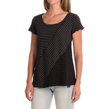 Nomadic Traders Apropos Intrigue Tunic Shirt - Short Sleeve (For Women)