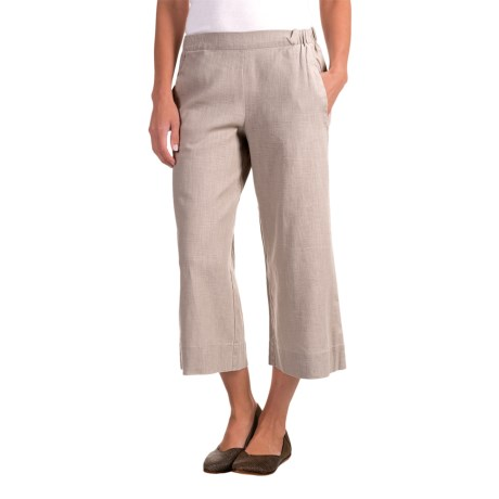 Nomadic Traders Apropos Linen Culotte Pants (For Women)