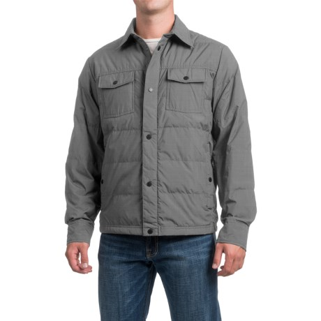 32 Degrees Packable Down Shirt Jacket (For Men)